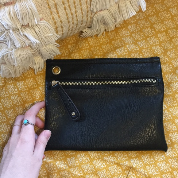 Urban Outfitters Handbags - Urban Outfitters Black Clutch